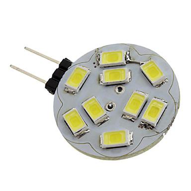 billige Elpærer-1.5 W LED-spotpærer 6000 lm G4 9 LED perler SMD 5730 Naturlig hvit 12 V