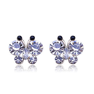 Women's Stud Earrings - Stylish, Classic Gold For Party / Special Occasion / Party / Evening