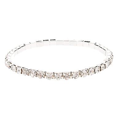 Damen Strass Ketten- & Glieder-Armbänder - Armbänder Für Weihnachts Geschenke Hochzeit