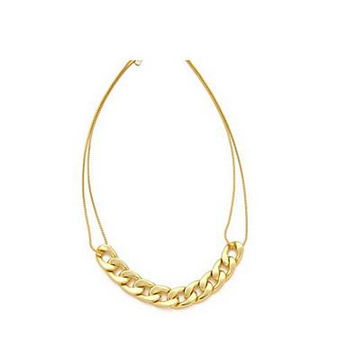Fashion Alloy Guld Kvinnors Halsband