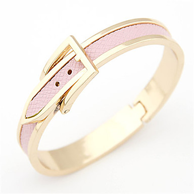 Belt Buckle Style Bracelet Hand Chain Wrist Ornament Jewelry for Women Lady Female Christmas Gifts