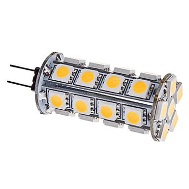 g4 lumini de porumb 30 smd 5050 310lm cald alb 3000k dc 12v