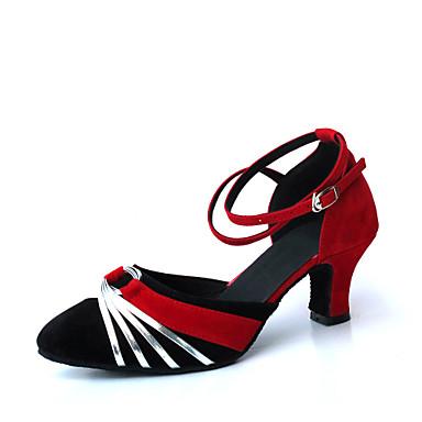 Women's Suede Upper Modern / Ballroom Dance Shoes (More Colors)