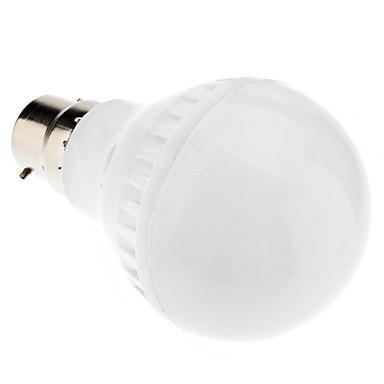 1pc 4.5 W 250-300 lm B22 / E26 / E27 LED Kugelbirnen A60(A19) 35 LED-Perlen SMD 5050 Warmes Weiß / Kühles Weiß / Natürliches Weiß 220-240 V