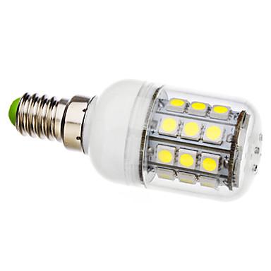 6000lm E14 LED-kolbepærer T 30 LED Perler SMD 5050 Naturlig hvid 110-130V 220-240V