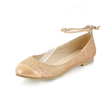 Élégant en simili-cuir talon plat Mocassins & Slip-Ons avec boucle chaussures de lune de miel (plus de couleurs)