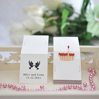Personalisierte Box Hartkartonpapier / Fasergemisch Hochzeits-Dekorationen Hochzeitsfeier Garten / Klassisch Ganzjährig