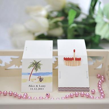 Häät / Party Materiaali Kova kartonki Wedding Kunniamerkit Hiekkaranta-teema / Wedding Kevät Kesä Syksy Kaikki vuodenajat