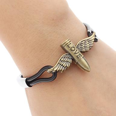 Women's Charm Bracelet Alloy Punk Wings / Feather Jewelry