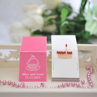 Yksilöllinen tulitikkulaatikko Materiaali / Kova kartonki Wedding Kunniamerkit Häät / Party Wedding Kaikki vuodenajat