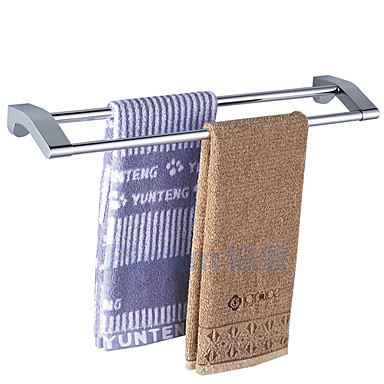 Havlu Çubuğu Yüksek kalite Çağdaş Paslanmaz Çelik 1 parça - Otel banyo 2 kulplu çubuk