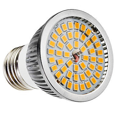 6W 500-600 lm E26/E27 B22 LED Spot Lampen MR16 48 Leds SMD 2835 Warmes Weiß Kühles Weiß Wechselstrom 100-240V
