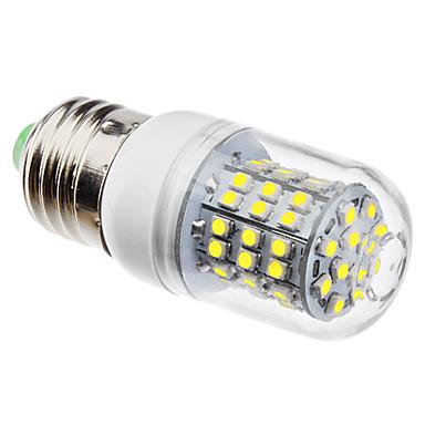 3 W 6500 lm E26 / E27 LED Mısır Işıklar 60 LED Boncuklar SMD 3528 Doğal Beyaz 220-240 V / 110-130 V / #