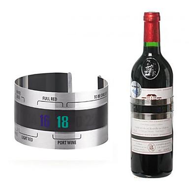 Bar ve Şarap Araçları Paslanmaz Çelik, Şarap Aksesuarlar Yüksek kalite YaratıcıforBarware 6.5*6.5*3.7 0.044