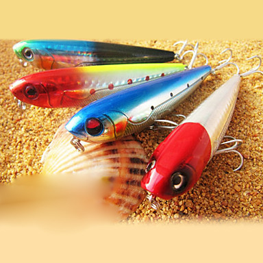 1 Stück Harte Fischköder Stift Angelköder Malerei Harte Fischköder Fester Kunststoff Seefischerei Fischen im Süßwasser
