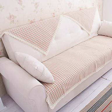bomuld Houndstooth blonder sofa pude måtter 70 * 180