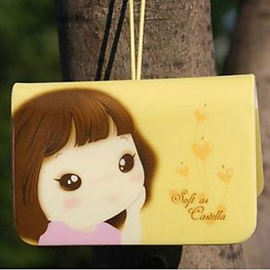 Cookie Girl Credit Card Holder(Random Color, for 12 Cards)
