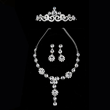 Women's Rhinestone Wedding Party Special Occasion Anniversary Birthday Engagement Gift Alloy