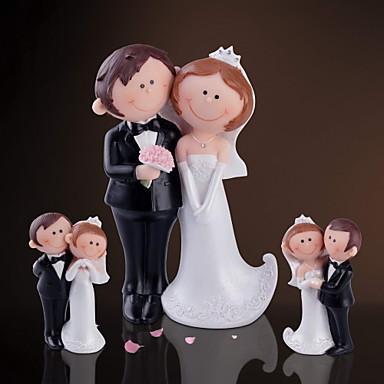 Reçine Ev Dekoru Damat Sağdıç Çift Aileler Düğün Yıldönümü
