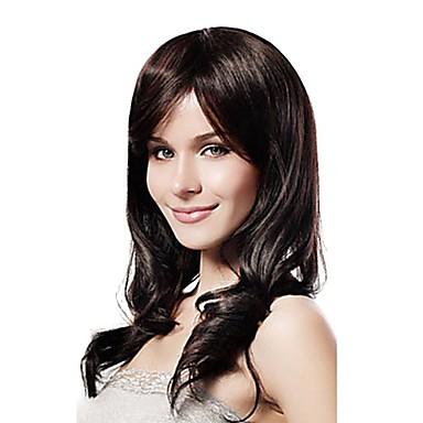 Syntetiske parykker Klassisk Høj kvalitet Dame Syntetisk hår Daglig