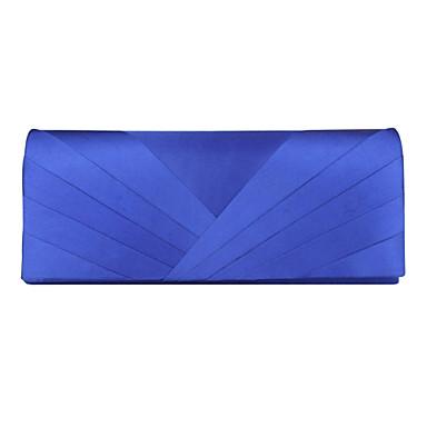 abordables Sacs-Femme Soie Pochette Set de sac à main 7 pièces Argent / Bleu / Ivoire