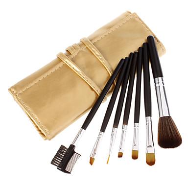 7pcs Professionel Make-up pensler Brush Sets Kunstig Fiber Børste / Syntetisk Hår Øjne / 2 * Øjenskygge børste / 1 * Øjenbryn og