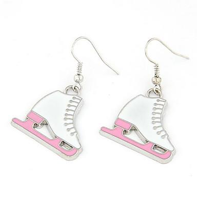 Damen lieblich Tropfen-Ohrringe - Personalisiert Modisch Roller-Skate Schuhe Ohrringe Für Alltagskleidung Verabredung