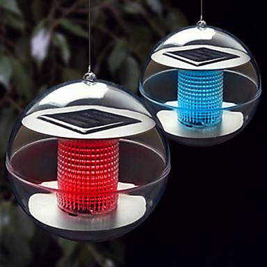 1 Stück Nächtliche Beleuchtung / LED-Solarleuchten Solar Wiederaufladbar / Wasserfest
