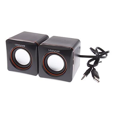 Dizüstü bilgisayarlar için LF-701 Mini Stereo Hoparlör Kutusu