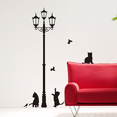 Animals 3D Wall Stickers Plane Wall Stickers Decorative Wall Stickers, Vinyl Home Decoration Wall Decal Wall