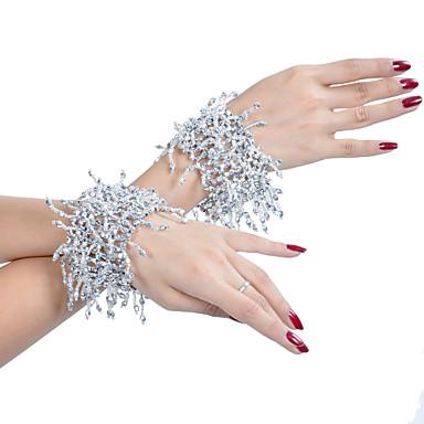Dans Aksesuarları Sahne Malzemeleri Mücevher Kadın's Eğitim Polyester Boncuklama