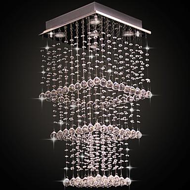 SL® Kristall Unterputz Raumbeleuchtung Galvanisierung Metall Kristall 110-120V / 220-240V Glühbirne nicht inklusive / GU10