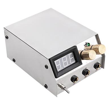 LCD Tattoo Machine Power Supply Digital professional power Clip Cord Foot Switch Power Plug