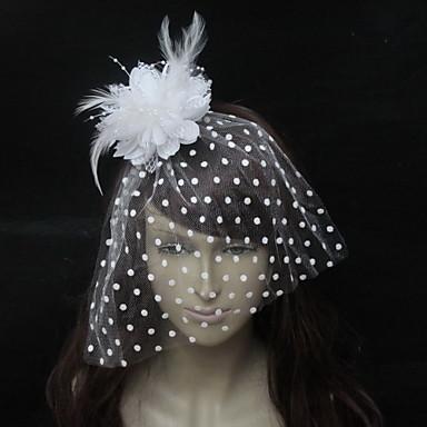 Birdcage Schleier Kopfschmuck Hochzeitsparty elegant klassischen femininen Stil