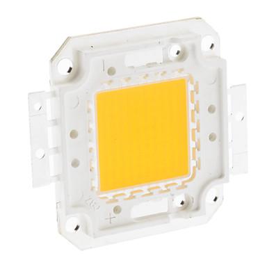 diy 100 watt 7900-8000lm 3000ma 3000-3500 karat warmweißes licht integrierte led-modul (32-36 v)