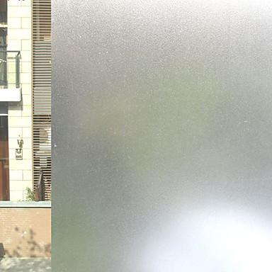Jednobarevné Klasik Fólie na okna, PVC/Vinil Materiál dekorace oken kancelář Obývák Bath Room