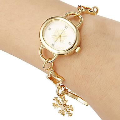 pentru Doamne Ceas Brățară Ceas Casual Japoneză Quartz Bandă Elegant Auriu Auriu