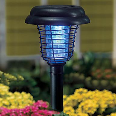 1pc Leuchte für Rasenplatz LED-Perlen Hochleistungs - LED Dekorativ Kühles Weiß / Lila