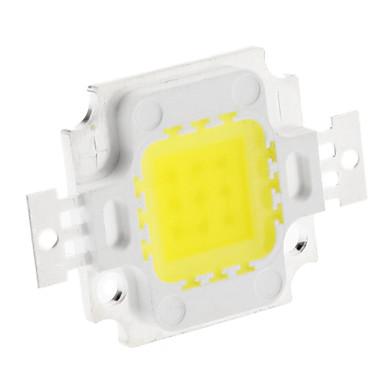Diy 10 w 700-800lm 300ma 6000-6500 k soğuk beyaz ışık entegre led modülü (32-35 v)