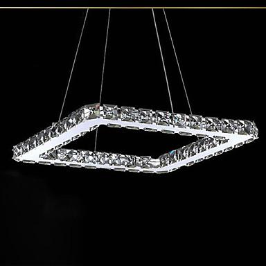 UMEI™ Linear Pendant Light Ambient Light - Crystal, LED, 90-240V LED Light Source Included / 10-15㎡ / LED Integrated