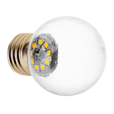 1.5W E26/E27 LED-globepærer 9 SMD 2835 90-150 lm Varm hvid Vekselstrøm 220-240 V