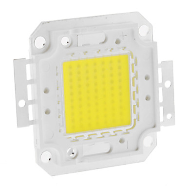 DIY 70W 5550-5600LM 2100mA 6000-6500K Cool White Light LED Module Integrat (30-36V)