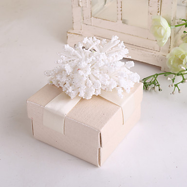 kubisch Kartonpapier Geschenke Halter mit Bänder Blume Geschenkboxen