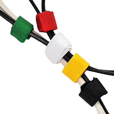 6 buc suporturi ingenioase pentru cabluri cârlig și bucle de fixare banda de sârmă de birou de stocare