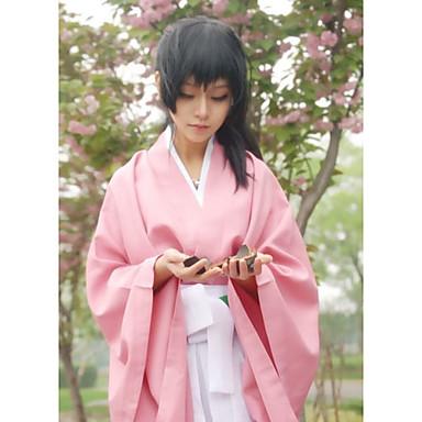 Inspireret af Cosplay Chizuru Yukimura video Spil Cosplay Kostumer Cosplay Kostumer Kimono Ensfarvet Top Bukser Bælte