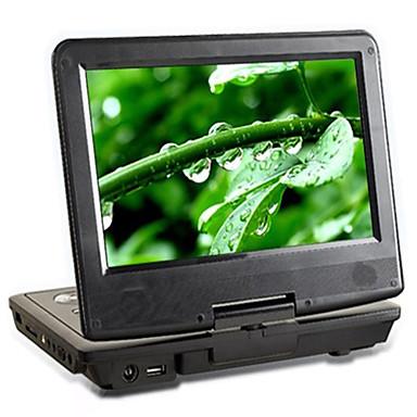 lettore DVD portatile con LCD da 7 pollici funzione copia + widescreen (hv21)