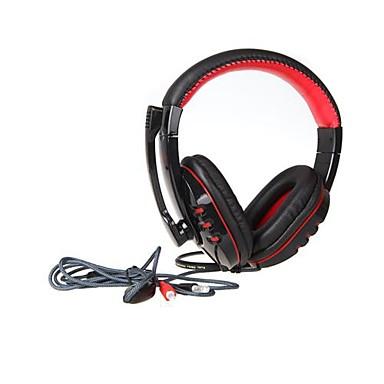 VP-X9 sluchátka 3,5mm s mikrofonem her pro počítačovou hráče