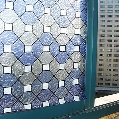 Fenster Film & Aufkleber Dekoration Klassisch Geometrisch PVC / Vinyl Fensterfolie / Schlafzimmer / Wohnzimmer / Badezimmer