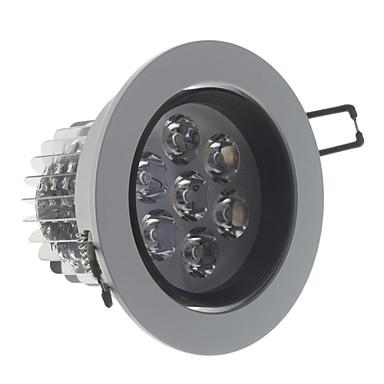 Prigušivanja 7W 560LM 3000K Warm White Light LED strop žarulja (220)