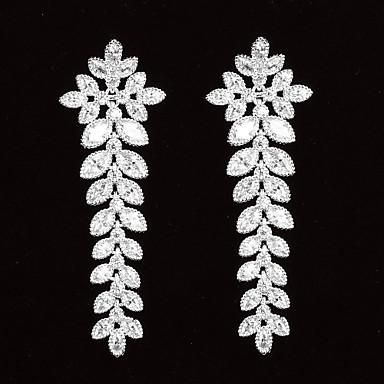 Dámské Kubický zirkon Platinová Nepravidelný Šperky Kostýmní šperky